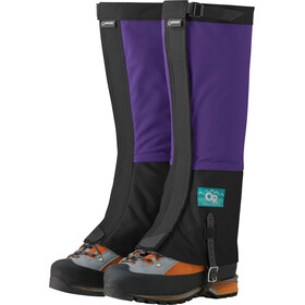 Outdoor Research Retro Crocodile Gaiters Unisex purple rain/black
